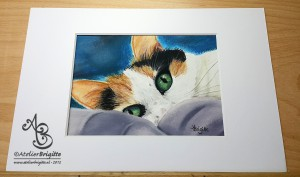 Willow, A5, pastel