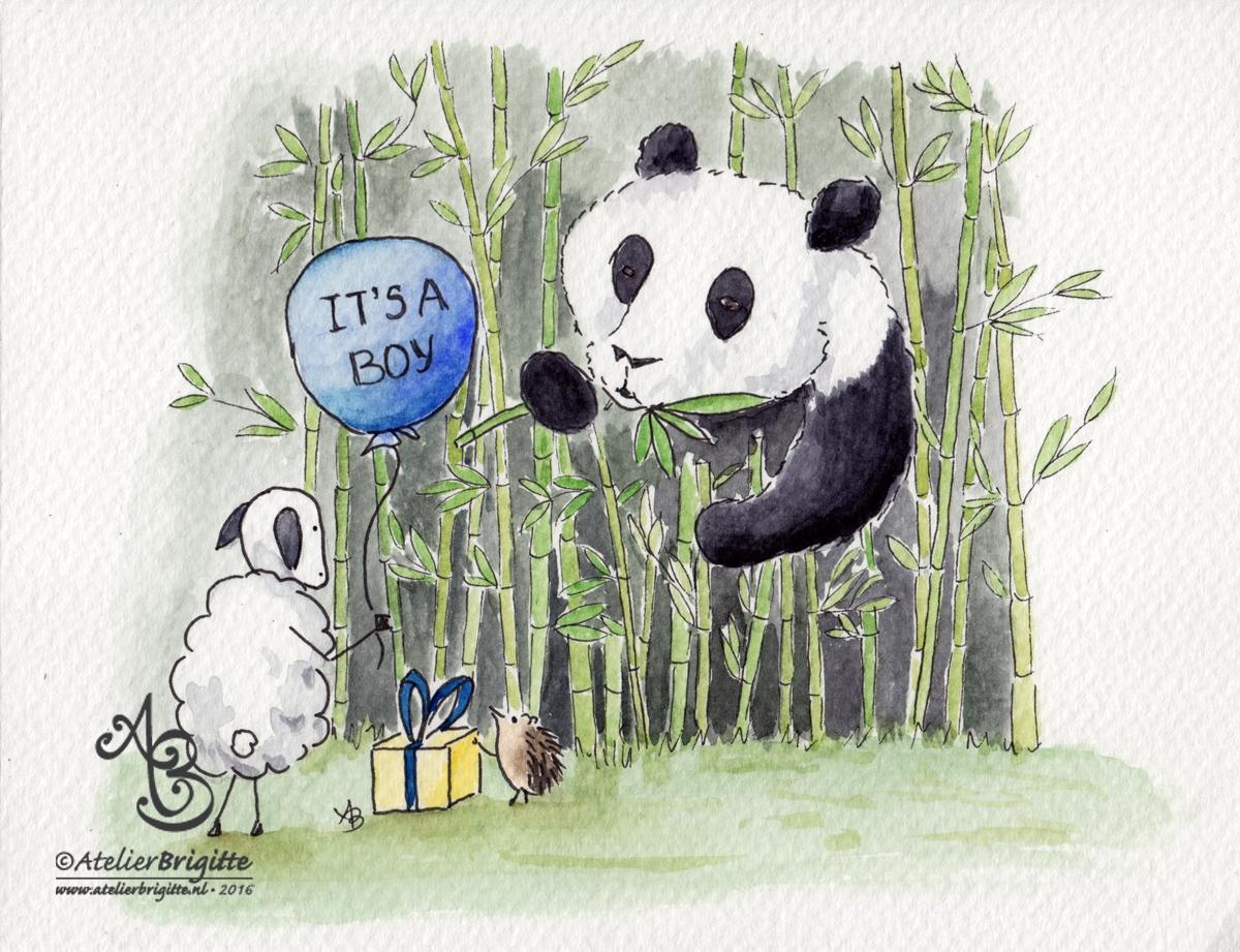 Panda geboren