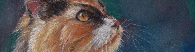 Voorwaarden maken dierenportret of illustratie