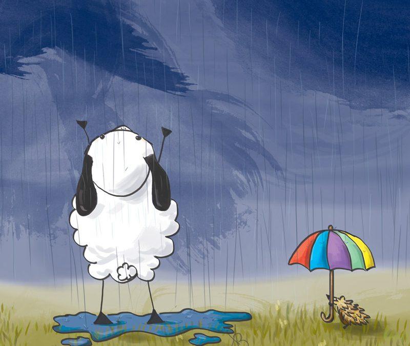 Eindelijk regen!